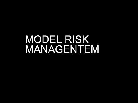Model Risk Management | Model Validation | Model Monitoring|CCAR