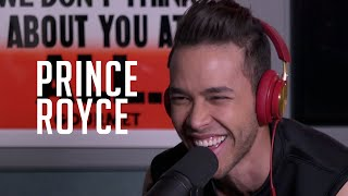Prince Royce talks competing w/ Romeo + addresses the ladies!