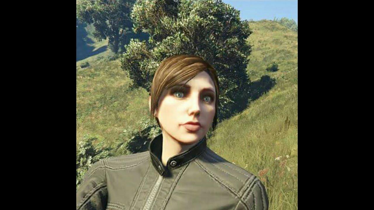 GTA 5 Female Character Creation - (2 GTA 5 Cute Female
