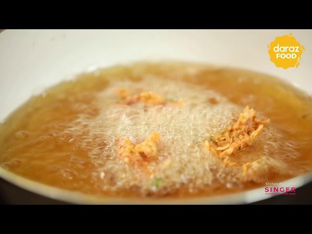 Kacha Kolar Pakora Recipe  |  Daraz Food