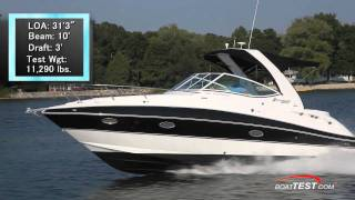 Cruisers Yachts 310 Express Test 2012- By BoatTest.com