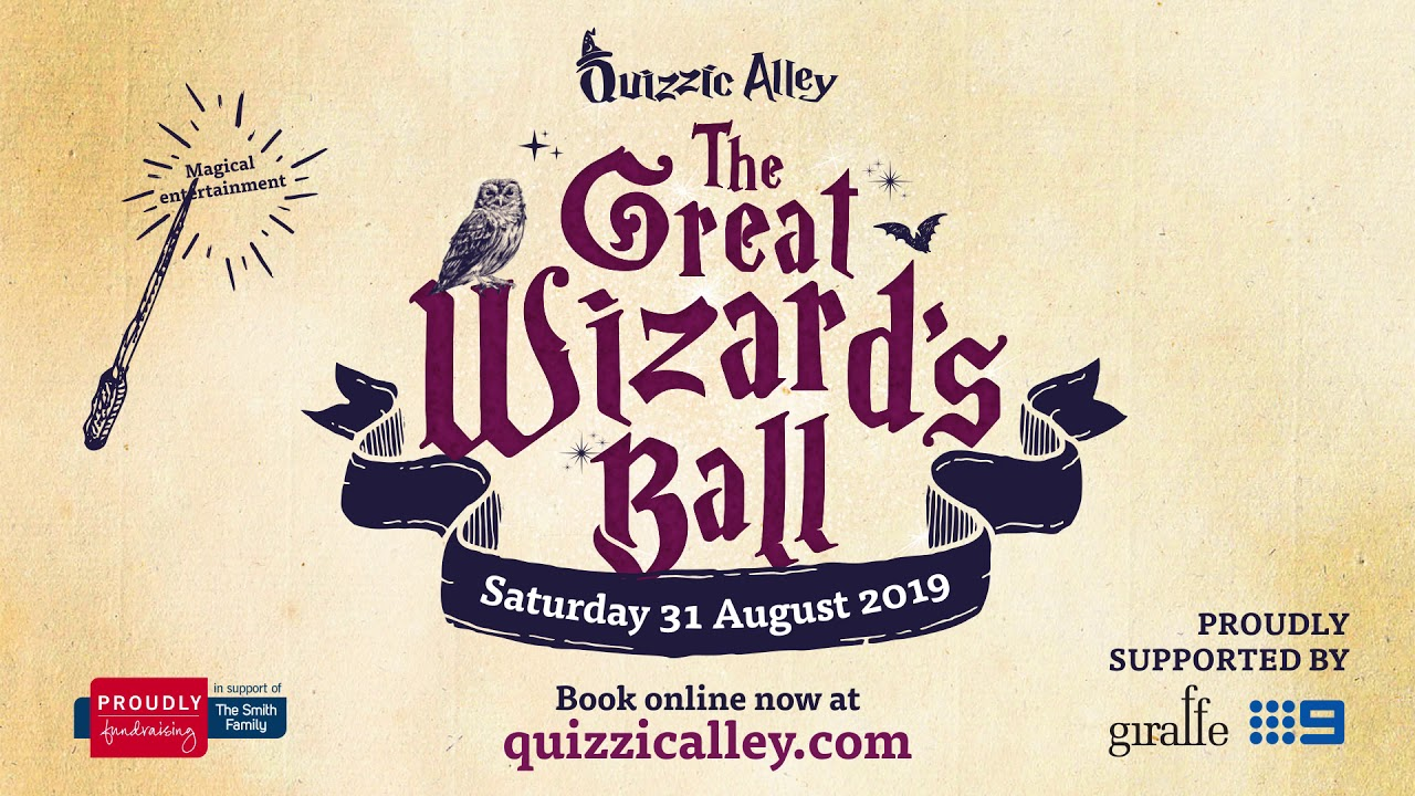 Quizzic Alley Great Wizards Ball