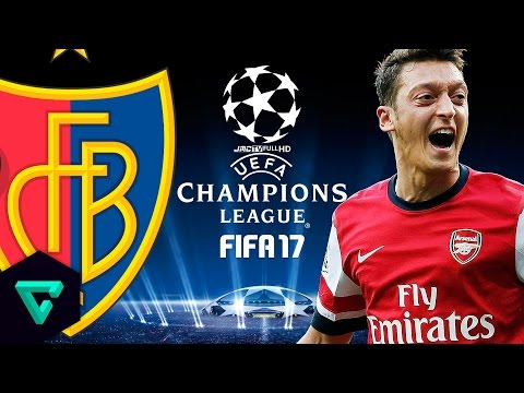 FC Basel vs. Arsenal | jmc UEFA Champions League | FIFA 17