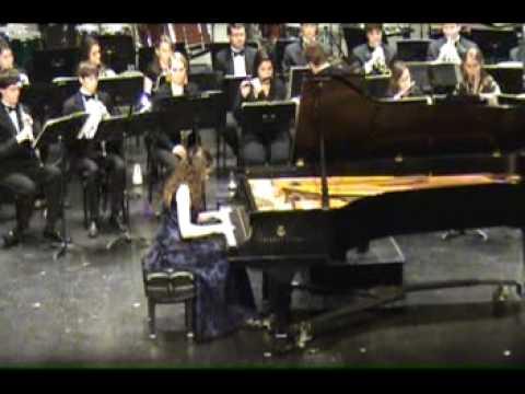 Stravinsky - Piano Concerto - Anastasia Seifetdinova (1/3)