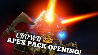 APEX PACK CROWN EVENT OPENING! - Apex Legends