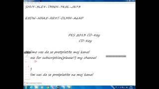 Pes 2013 cd-key