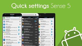 AndroidMod - Quick Settings di HTC per tutti gli Android