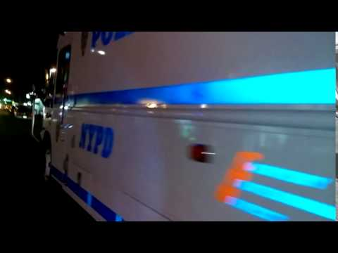 NYPD Transit Bronx And Queens Command Post Parked In The South Bronx