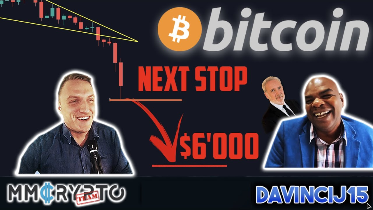 BITCOIN's NEXT STOP $6'000!!? DECISION TODAY!!! & Peter Schiff EXPOSED!!! w. DavinciJ15