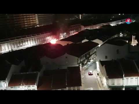 Accident At 37 Tanjong Pagar Rd, On Feb 13