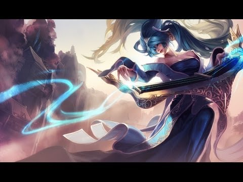 Cute Anime Girl Live Wallpaper Sona Champion Spotlight Gameplay League Of Legends
