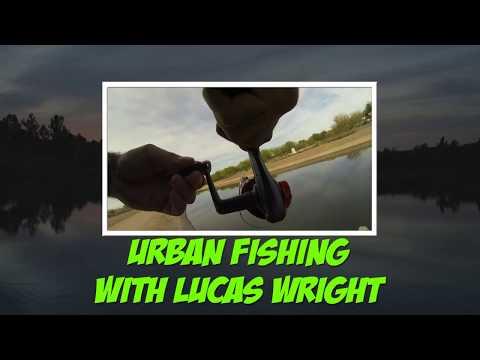 Arizona Urban Canal Bass Fishing