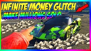 *Get Million$ From This* GTA 5 Online Money Glitch... Unlimited Solo 1.50 money Glitch