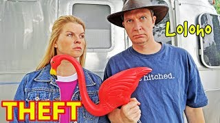 "THEFT & RV CAMPING -- ""Will other campers steal my stuff?!"" (Someone stole Kristy's! 😩)"