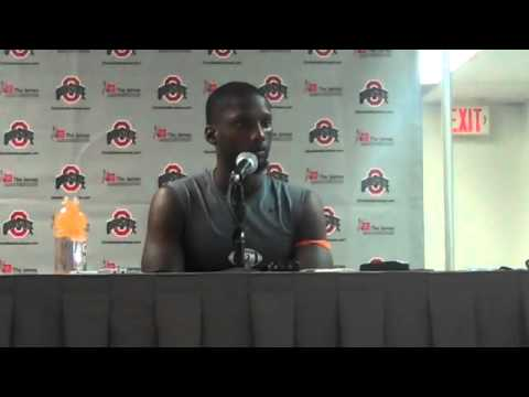 UM quarterback Jacory Harris after Ohio State loss
