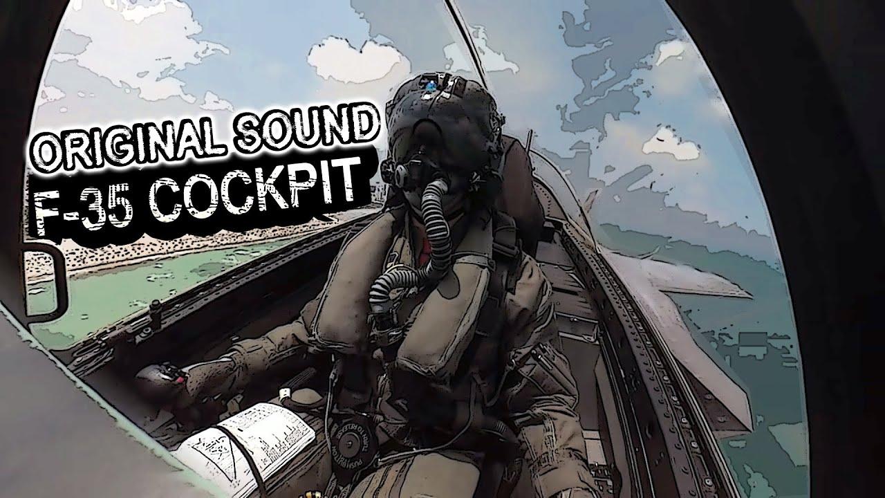 Exclusive! F-35 Cockpit Camera | GoPro F-35 Lightening II | Cockpit View