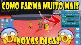 NOVAS DICAS DE FARMA BASTANTE COINS UNBOXING SIMULATOR! Roblox