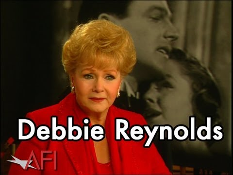 Debbie Reynolds on SINGIN' IN THE RAIN
