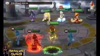 Summoners War - Tetra Arena Gameplay (Water Mermaid)