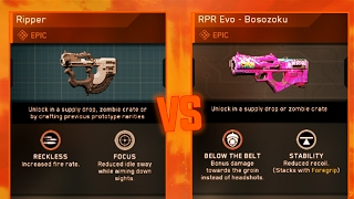 EPIC RIPPER VS EPIC RPR EVO BOSOZOKU! EPIC GUN FACE-OFF! BEST EPIC RPR EVO VARIANT! BEST EPIC SMG!