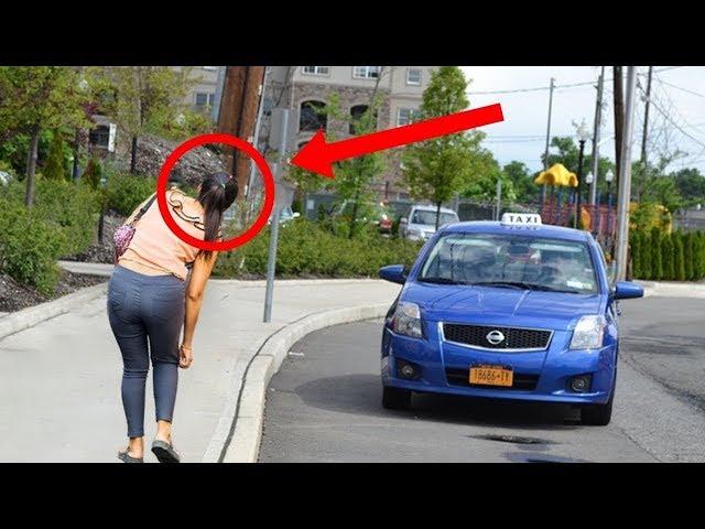 Taxifahrer holt Frau ab,als sie Zuhause ist,hätte er nie gedacht,dass sie ihn auf diese Art bezahlt