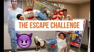 ESCAPE CHALLENGE GONE WRONG? WITH ANIMALS!