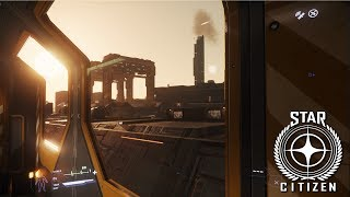 Star Citizen | Mrs Sausage FINALLY Gets the Space Train !