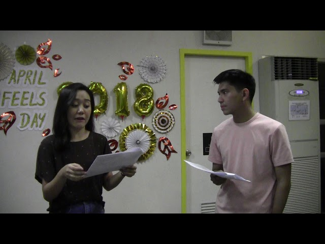#romanceclass AprilFeelsDay 2018 Live Reading: Just Kate by Clare Elisabeth Marquez