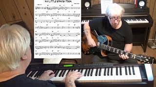 IN A LITTLE SPANISH TOWN - Jazz guitar & piano cover ( Mabel Wayne )