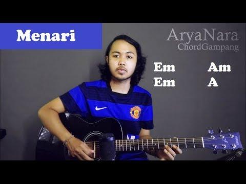 Chord Gampang (Menari - Rizki Febian) by Arya Nara (Tutorial Gitar) Untuk Pemula