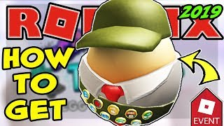 [EVENT] HOW TO GET THE EGGLE SCOUT EGG | ROBLOX EGG HUNT 2019 Scrambled In Time - Backpacking