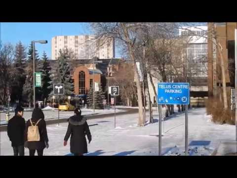 University of Alberta North Campus winter tour