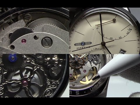 1a456b5e59b How to Wind and Set an Automatic (or Mechanical) Wristwatch - Watch and  Learn  12 - YouTube