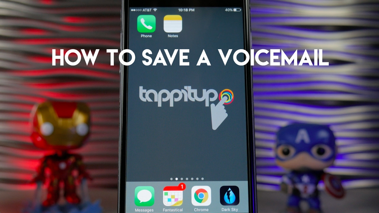 How to save a voicemail on an iphone youtube how to save a voicemail on an iphone kristyandbryce Choice Image