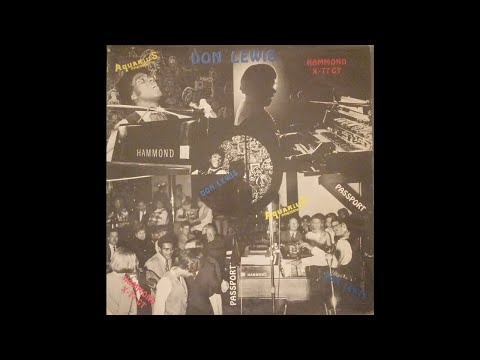 Don Lewis - The Don Lewis Experience [LIVE, FULL ALBUM]