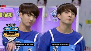 Gambar cover BTS Jungkook is a real macho man! [2016 Idol Star Athletics Championships - New Year Special]