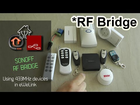 Sonoff RF Bridge Review - YouTube