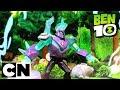 Mainan Ben 10 | Omni-Enhanced Diamondhead dan Hex | Cartoon Network