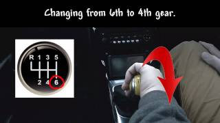 Complete Driver - How to change gear using a gear stick (Stick Shift) and the Palming Method