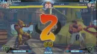 ssf4ae【Evolution 2012】Gamerbee (Adon) vs.Daigo Umehara (Ryu)  【世界最大規模格ゲー大会】ウメハラが見せた神試合