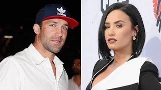 Demi Lovato Dating UFC's Luke Rockhold After Cryptic Instagram Posts?