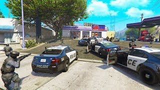 WATCHING A 5 STAR ROBBERY HAPPEN LIVE! *INSANE!* | GTA 5 THUG LIFE #270