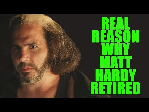 Real Reasons Why Matt Hardy Retired From WWE!