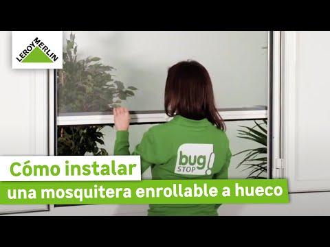 Cómo instalar una mosquitera enrollable a hueco · LEROY MERLIN
