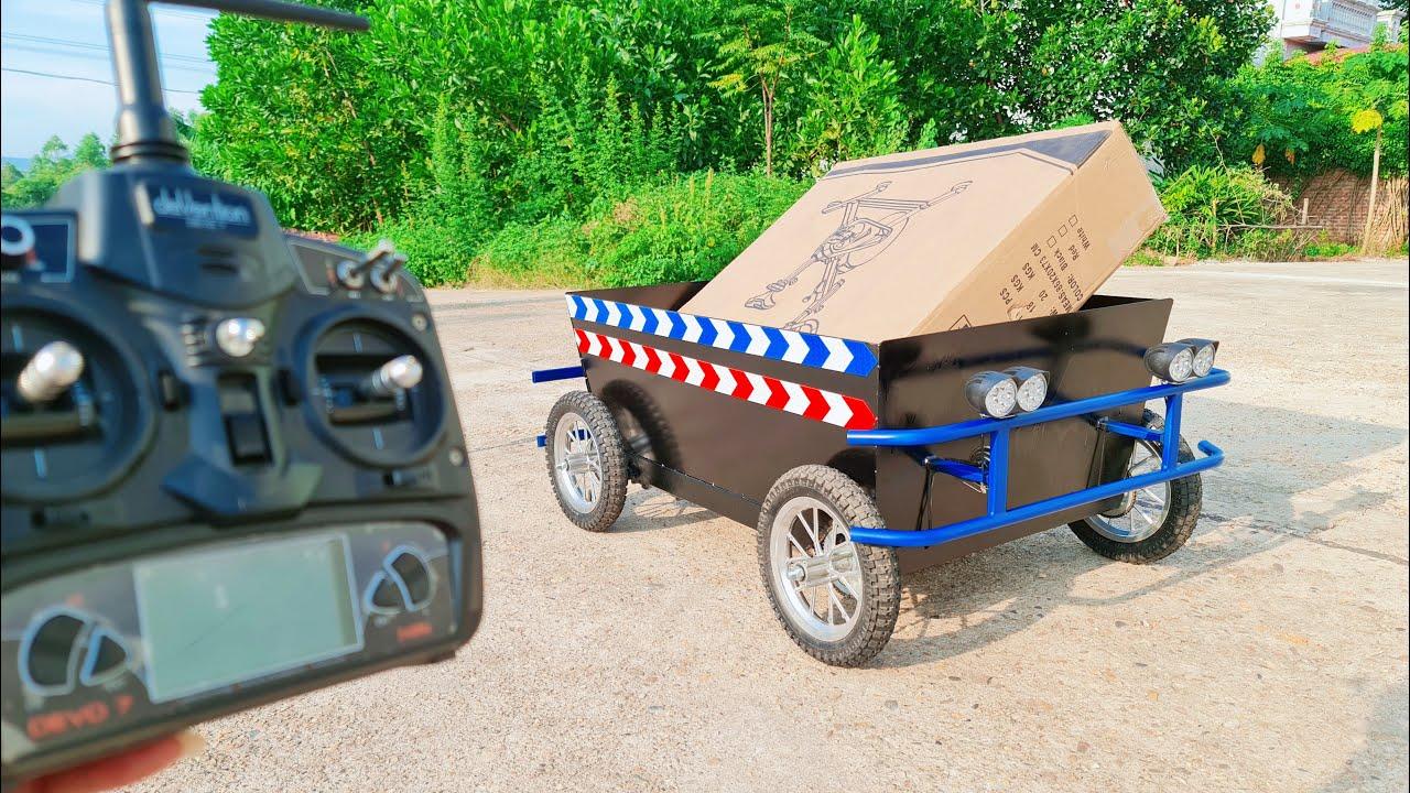 Build a RC Wheelbarrow Truck