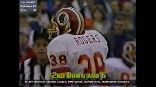 1987 Regular Season Week 7 Washington Redskins (51) at Buffalo Bills (33)