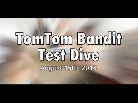 TomTom Bandit Underwater test - scuba diving Byron Bay