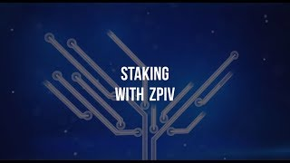 Staking With zPIV