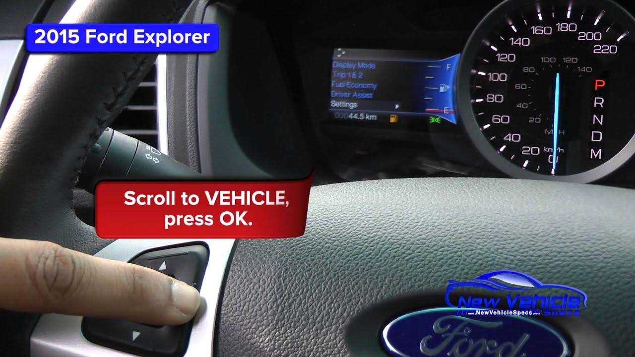 Ford Explorer Oil Light Reset Service You