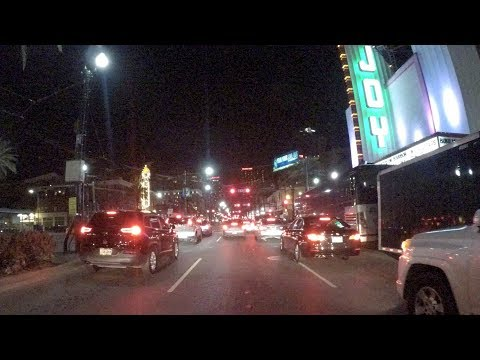 Road Trip #258 - Canal Street at Night - New Orleans, Louisiana